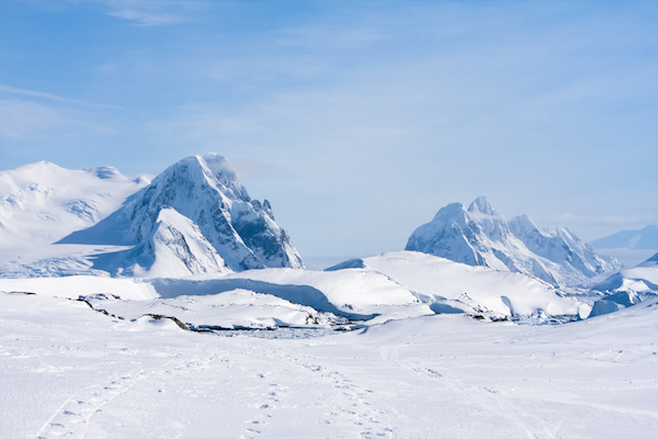 Antarctic landscape ©Getty