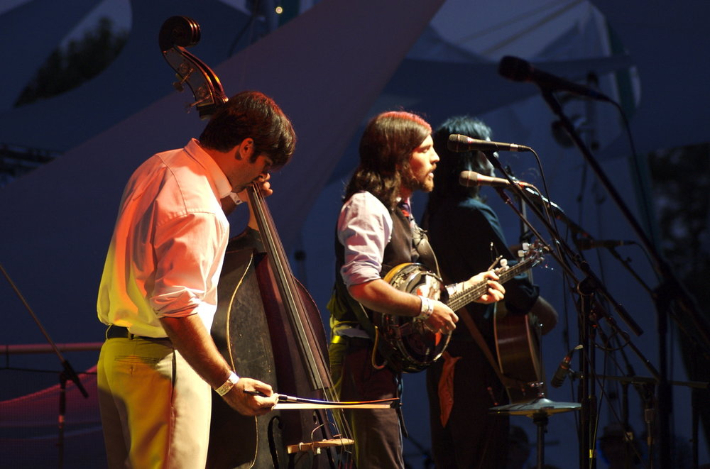 The Avett Brothers at Pickathon 2006 (Wikimedia |  David Owen )