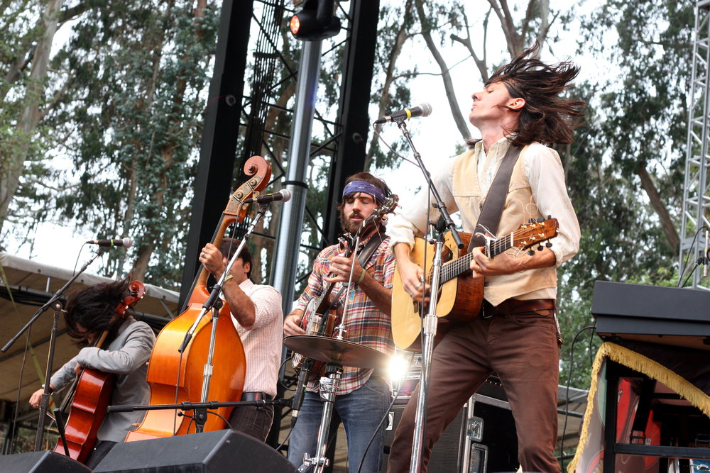 The Avett Brothers at the Outside Lands 2009 (Flickr |  Moses )