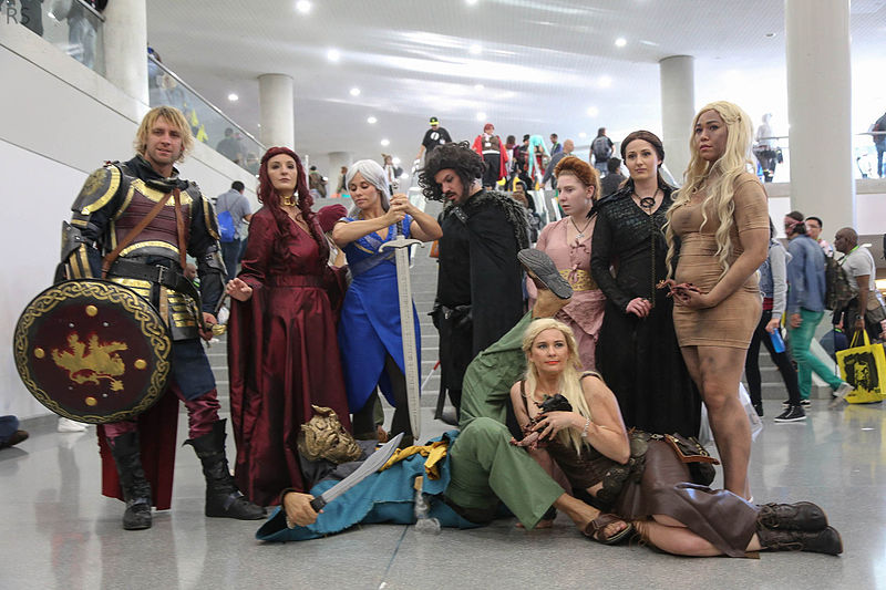 Fans of  Game of Thrones  at New York Comic Con 2015 (Flickr |  Richie S )