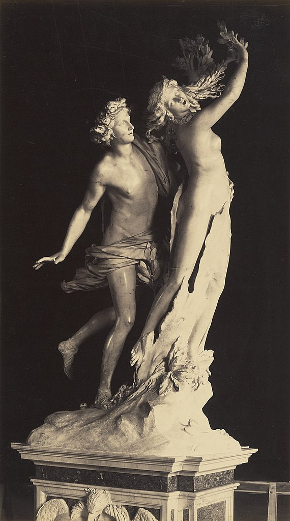 Bernini's  Apollo and Daphne .