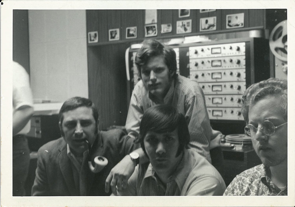 Vince Montana (left), Al Waldman (center),  Ed Esko (right), Jeff Esko (top)  Vince was the arranger for the hit 'Salt & Pepper'