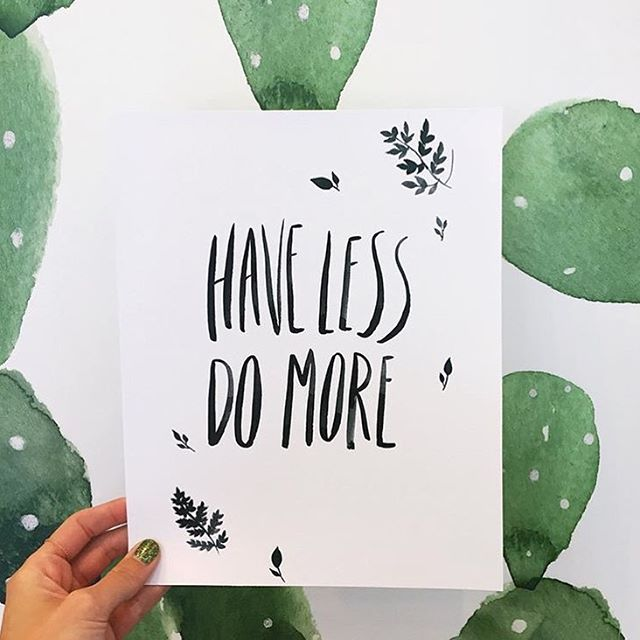 less = more  Capture by @handandland