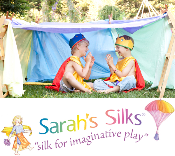 Play Silks - Playsilks are a beautiful and magical play thing for a child. Put one in the hands of any child and you will be amazed at what they do. Dancing, dressing up, making