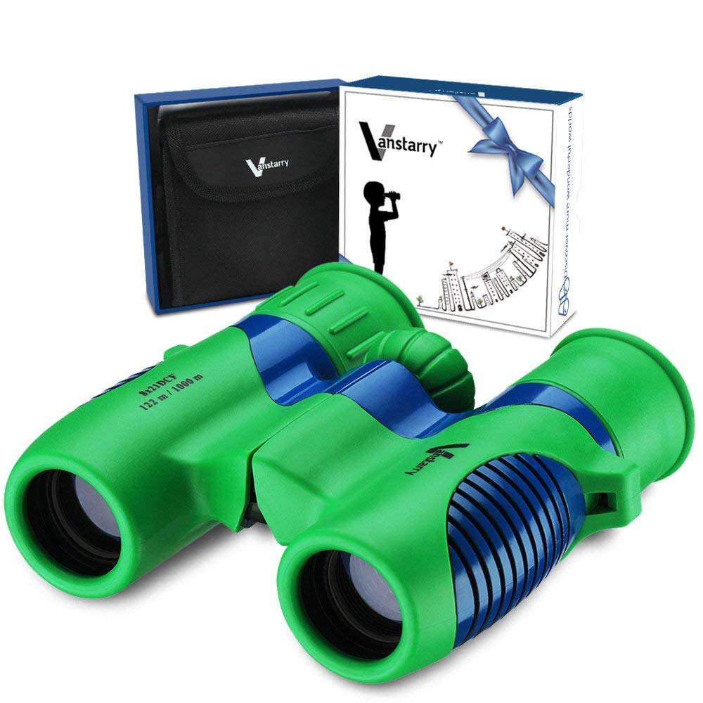 Kids binoculars - For bird watching! If you don't already have a bird feeder in your yard, get one! It can be a part of this gift, too!