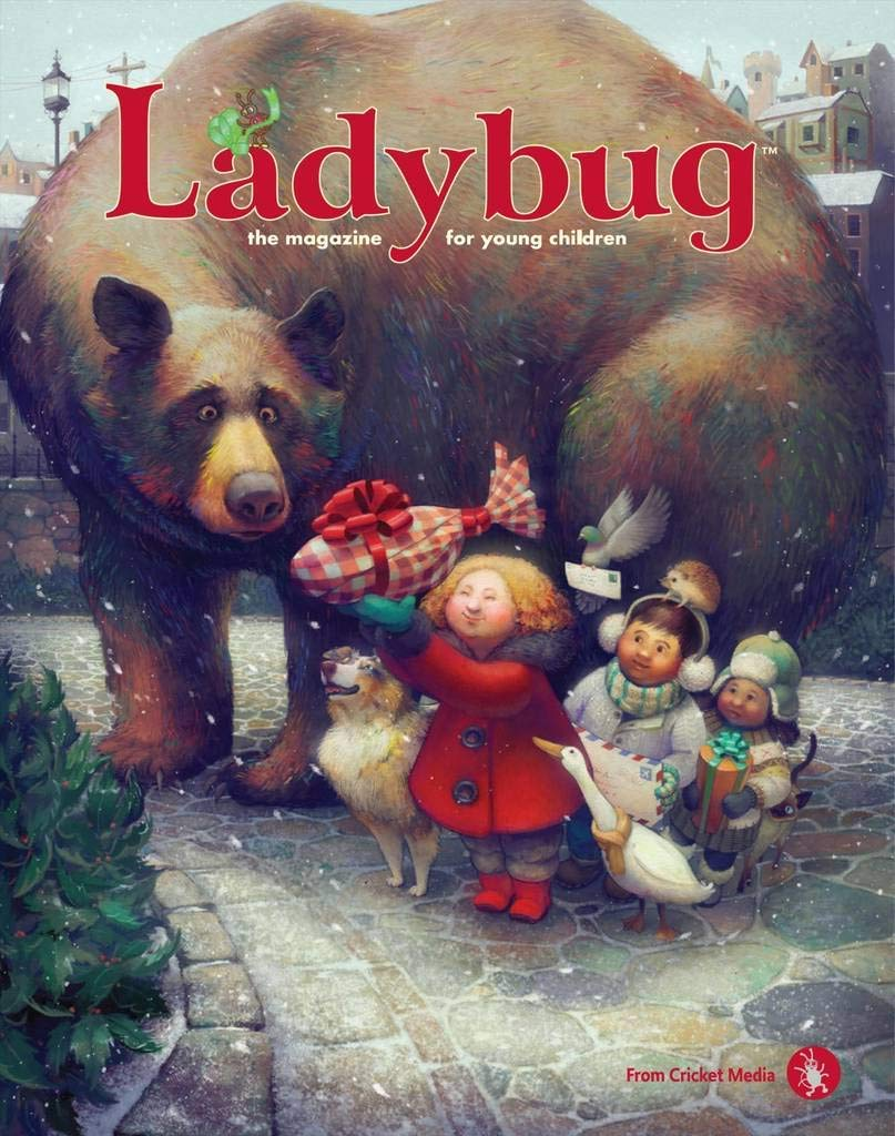 Ladybug magazine subscription - We've checked a few of these out of the library and it is the best little children's magazine I've seen. Lots of quality stories, projects, ideas, games and learning, it's a hit with my 4y/o and I think getting a special magazine in the mail each month would be such a special childhood treat and memory.