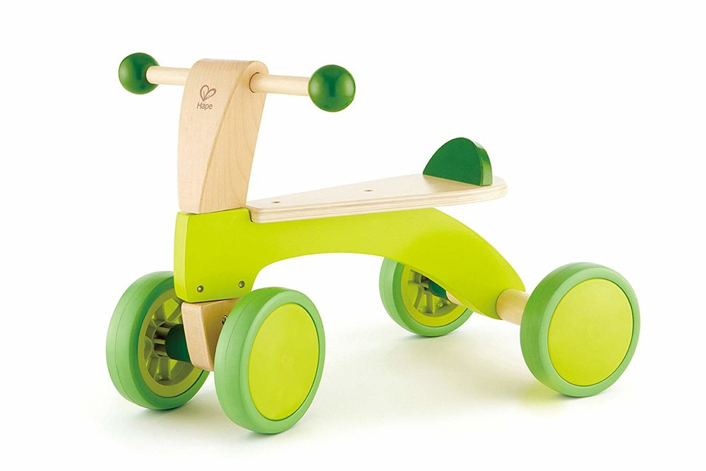 Wooden scoot around -