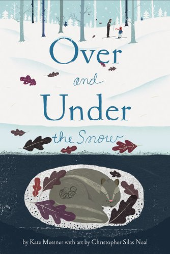 Over and Under the Snow - Again with the swoon worthy illustrations and a beautiful writing style. There are a few other books in this series as well (Kate Messner can do no wrong) and they are all equally worthy of being added to your book collection.