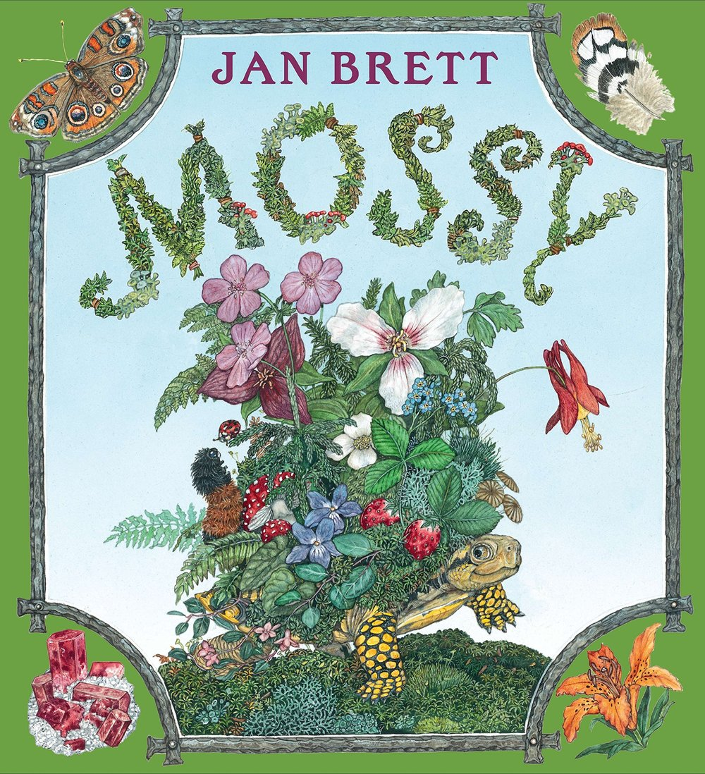 Mossy - I had to include another Jan Brett book, because they are just that good. I've never seen a picture book formatted the way that hers are, it is stunning and would be difficult to explain. You'll just need to see for yourself :-)