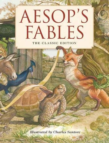 Aesop's Fables - A must have for every children's bookshelf! I particularly love this edition featuring exquisite illustrations by a top NYT best selling illustrator.