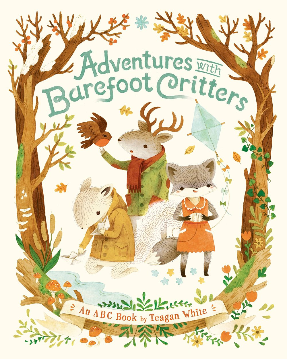 Adventures with Barefoot Critters - One of my favorite children's illustrators wrote and illustrated this book and it is one of the sweetest books you'll ever lay eyes on.