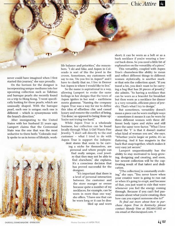 Churchill Downs Magazine - April 2016