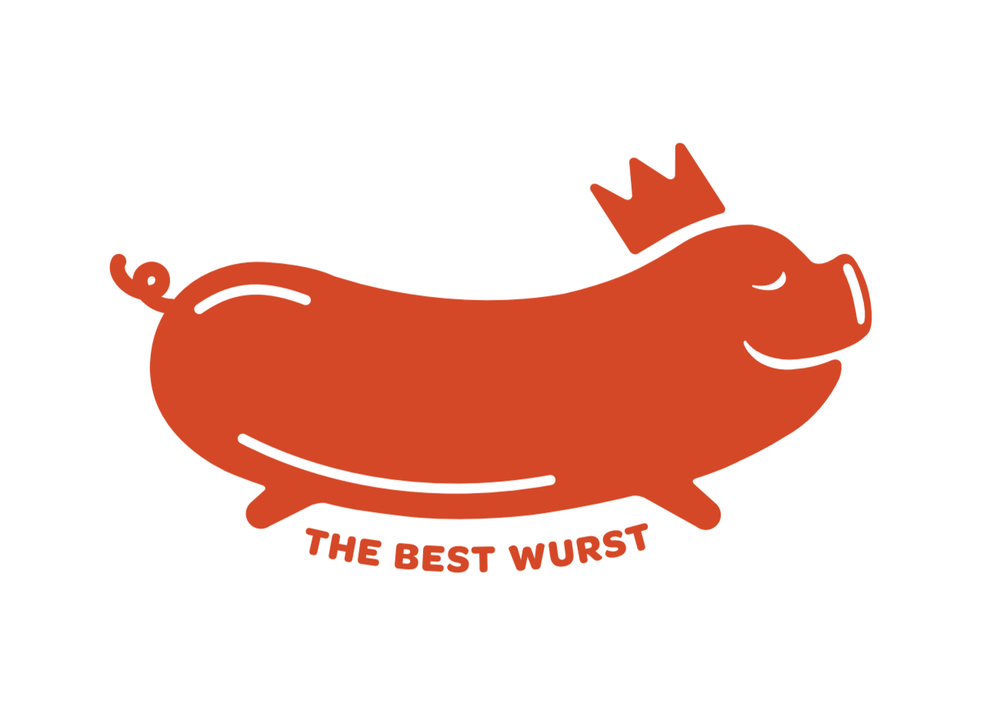 The Best Wurst is a mobile vendor serving grilled sausage sandwiches in Austin.