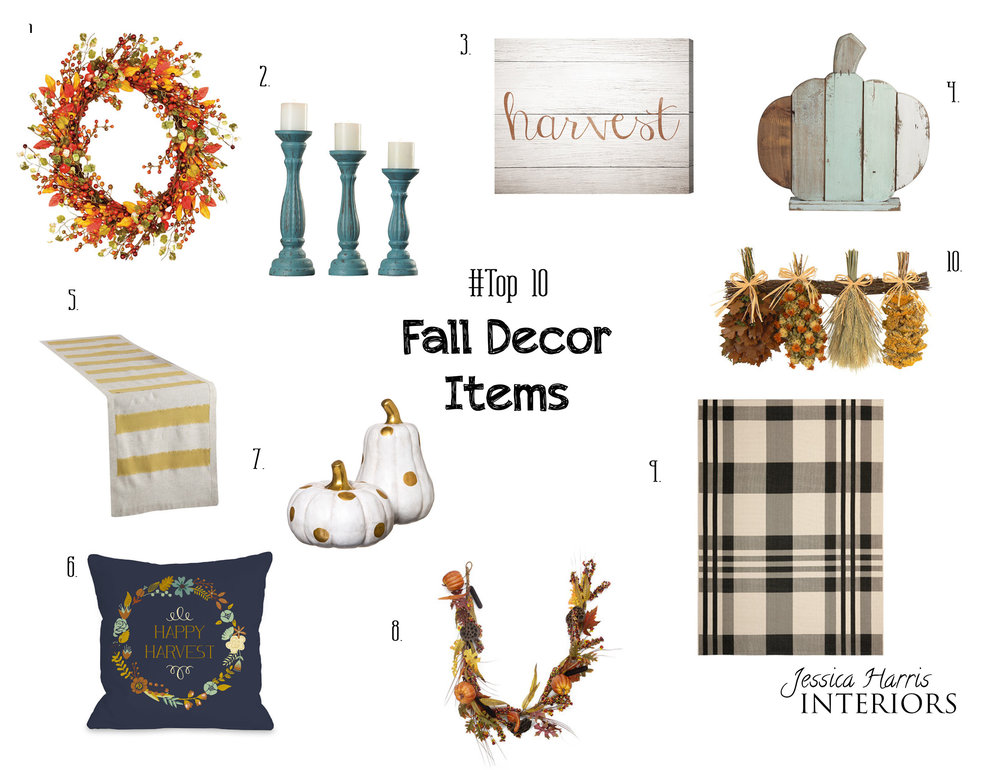 Top 10 Fall Decor Items