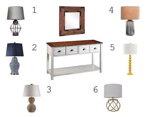 """It's time for WEEK 3 of """" You Design the Room!"""" Where the room is designed entirely on your votes! For WEEK 3: VOTE for your favorite Table Lamp. To vote tell me your favorite in the comments below! . . . . . #edesign #interiordesign #interiordesigner #entry #tablelamp #home #creatingspace #roominspo #roomdecor #styleinspo #youdesigntheroom #designchallenge #instagood #instadesign #picoftheday #homedecor #homestyling #lamps #designideas #designinspiration #entrywaydecor"""