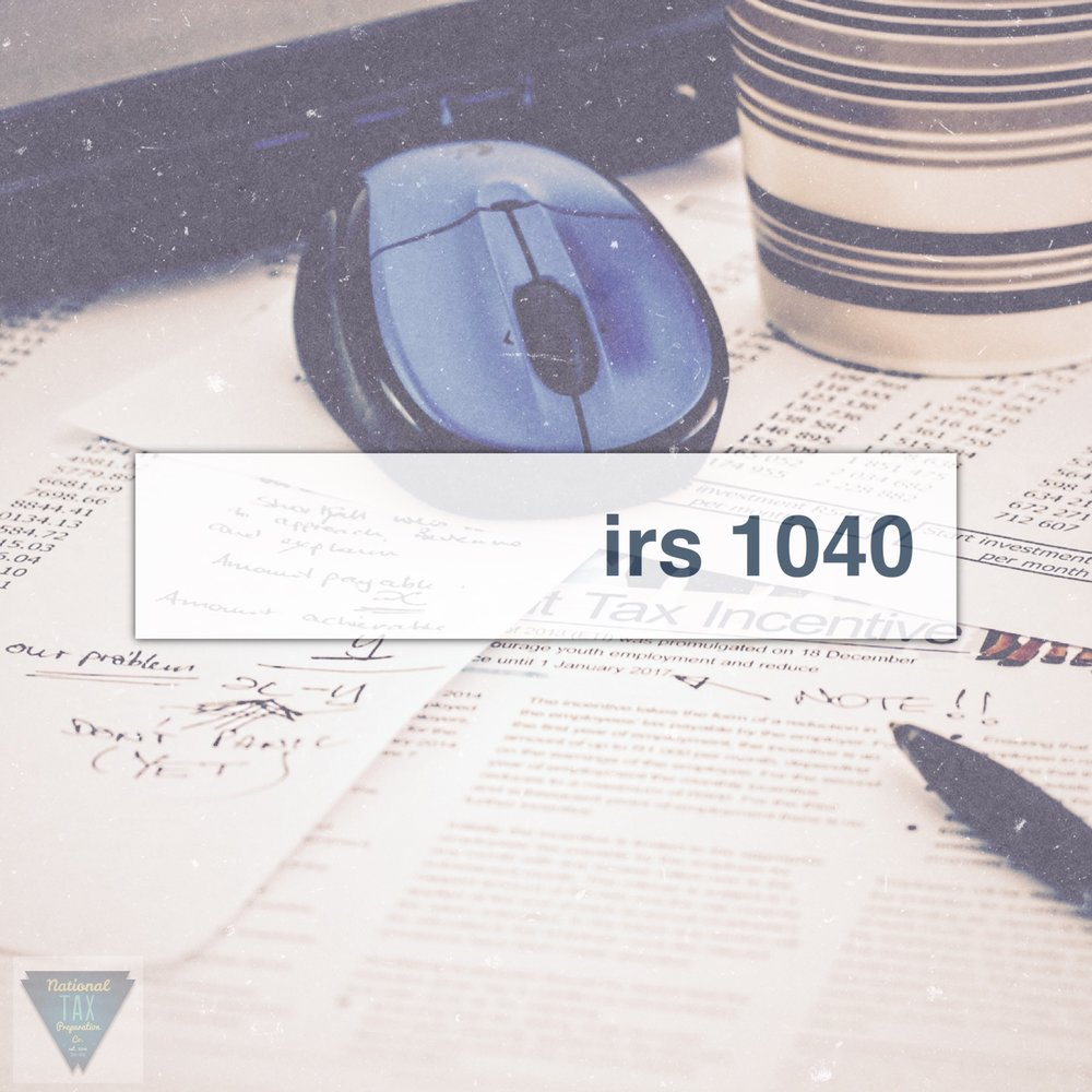 IRS Tax Form 1040