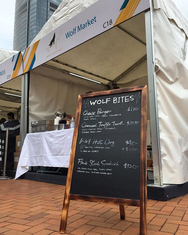 Come visit our booth at the HK Formula E and get a Buy One Get One Free Coupon on all bottles!  #WolfMarket #FormulaE #WolfBites