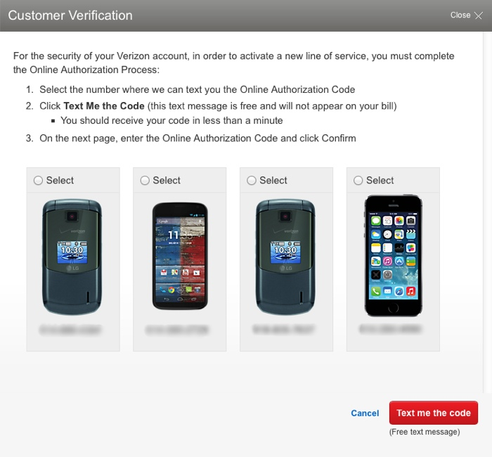 upgrade verizon iphone 5s to iPhone 6 plus + keep unlimited data - verification
