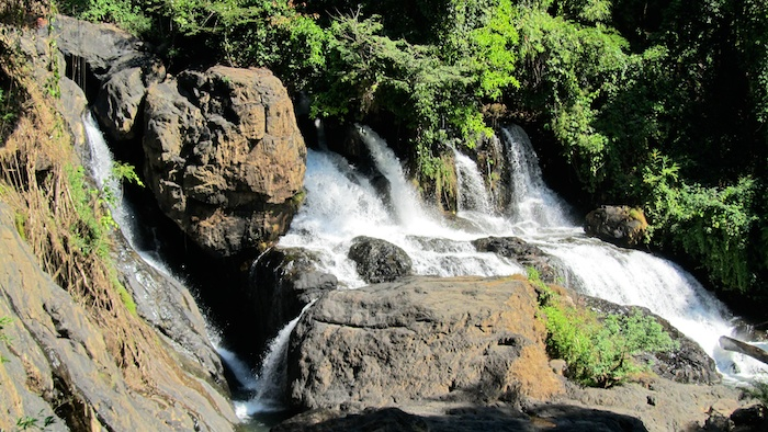 Mae Hong Son, Thailand - Beautiful Pa Sau waterfall