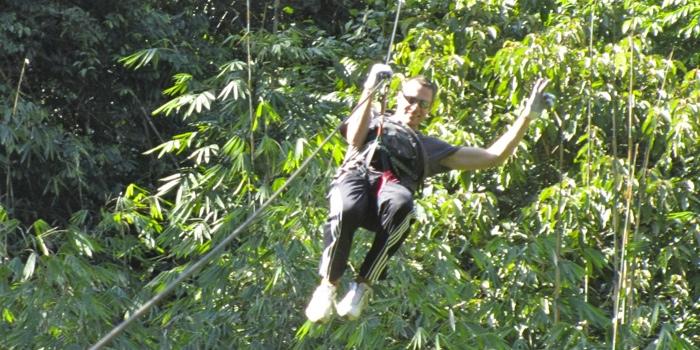 The longest zipline - yeehaaa!