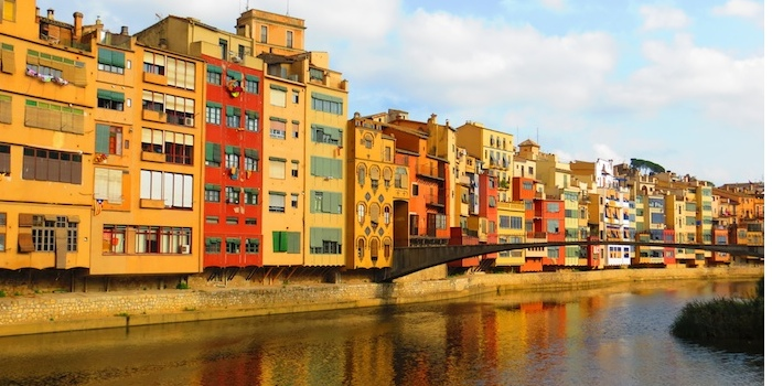 The classic picture of Girona