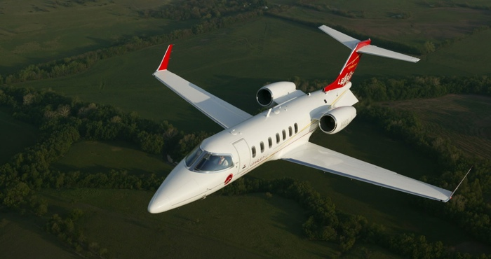 A Learjet that sparked my interest in aviation