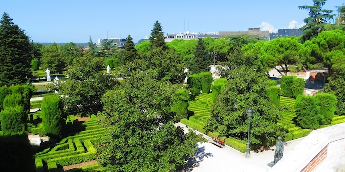 Palacio Real gardens