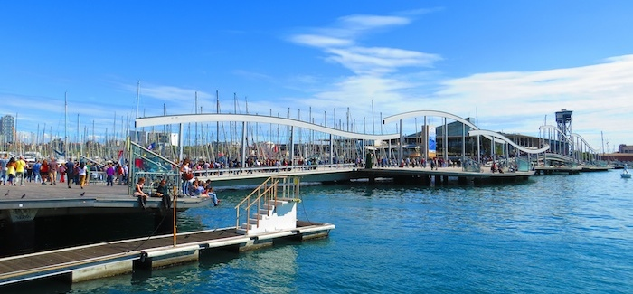 Beautiful day at Port Vell