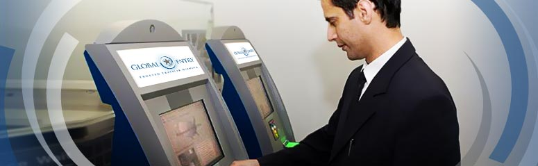 Global Entry kiosk
