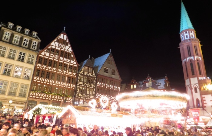 Christmas market at Römer