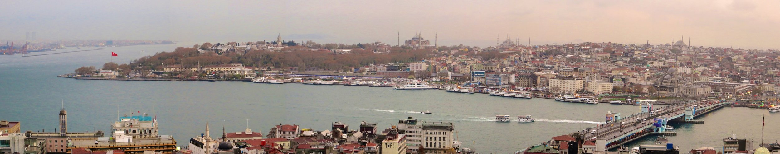 Magnificent Istanbul from Galata Tower
