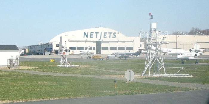 Netjets facility at White Planes