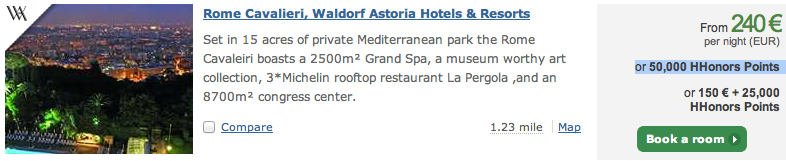 Waldorf Astoria in Rome