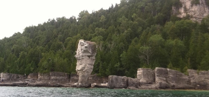 Flower Pot rock formation near Tobermory