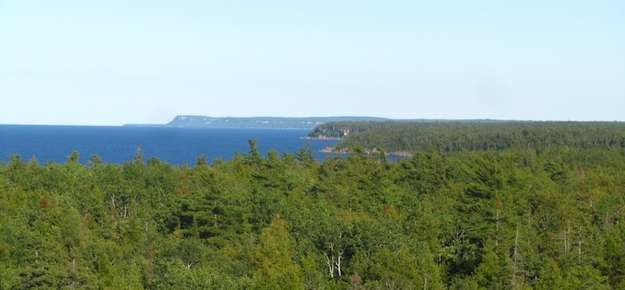 Panoramic view from the fire watch tower