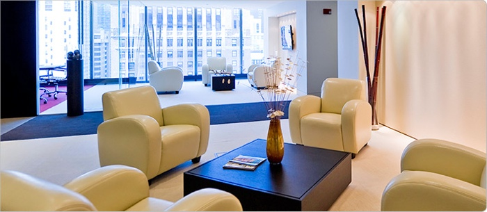A Regus business lounge (photo from Regus)