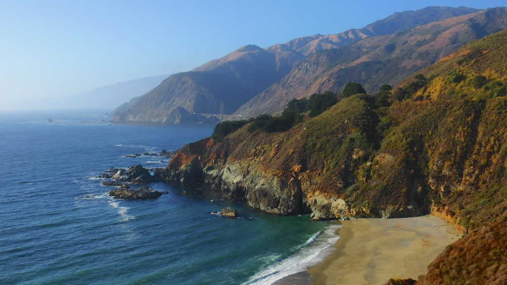 Just another beach near Big Sur
