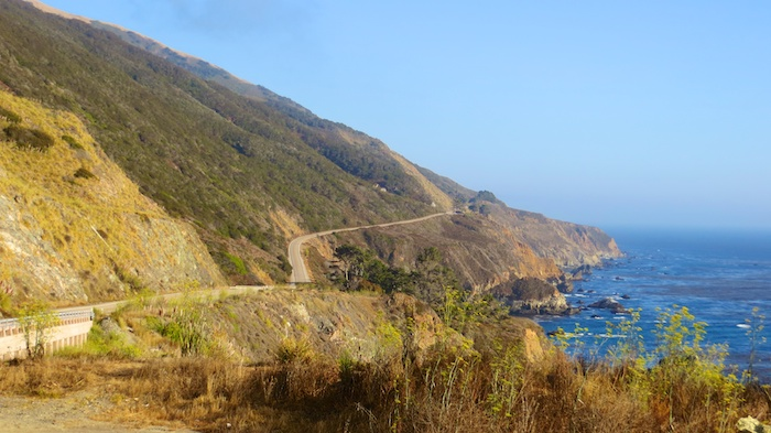 The mountains and the ocean - I wish all roads looked like this (near Big Sur)