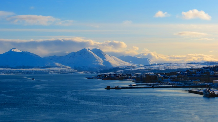 Tromso and majestic scenery around it