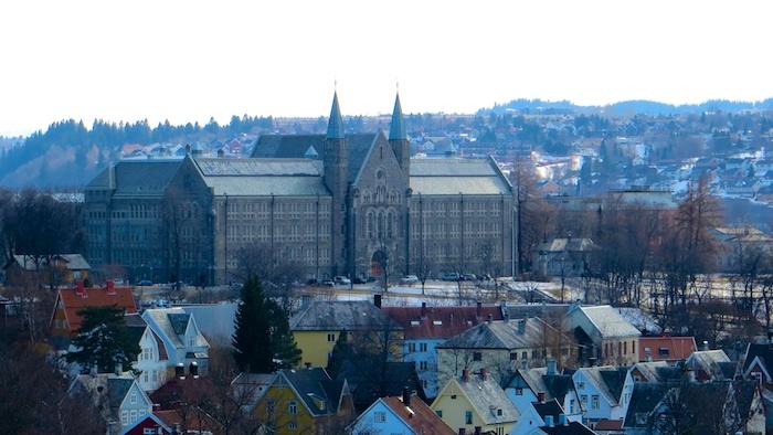 Trondheim University building