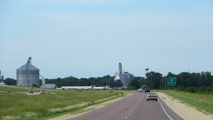 Farm facilities - grain elevators?