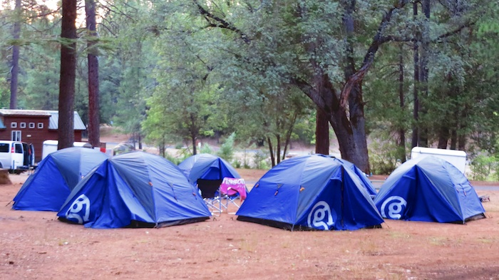 G Adventures tents