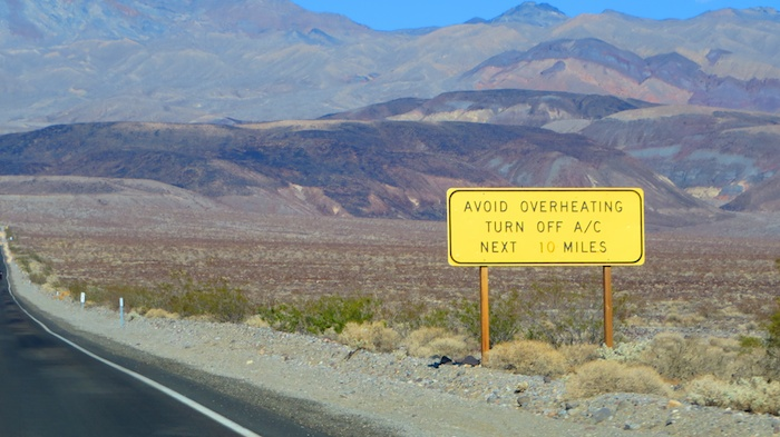 Turn Air conditioning off in death valley