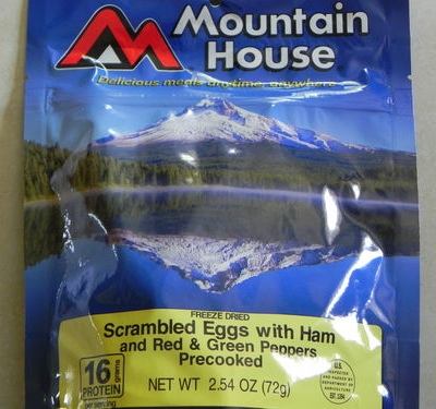 MountainHouse Scrambled Eggs with Ham and Peppers