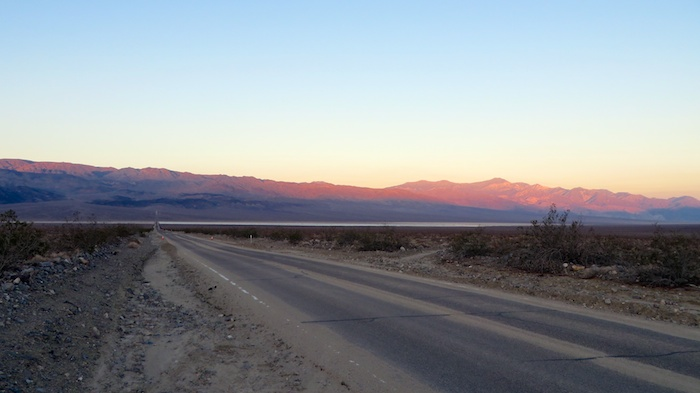Beautiful sunset in Death Valley… I wonder if anyone is still coming this way