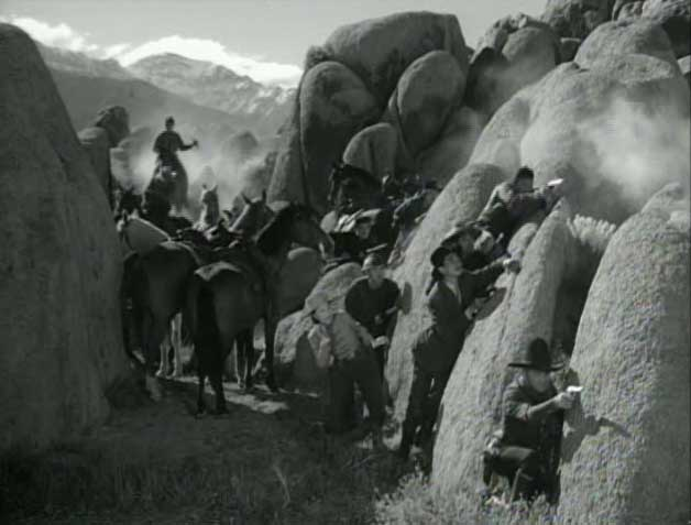 Gunfight in Hoppy's Secret of the Wasteland at Lone Pine Film Museum