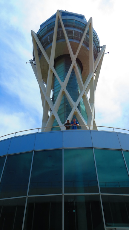 Barcelona Airport Air Traffic Control Tower