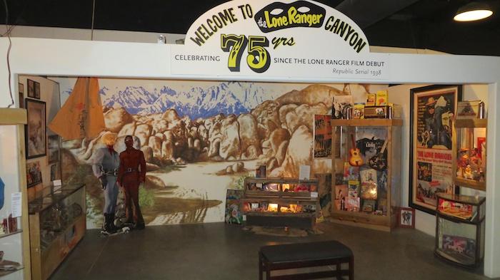 Lone Ranger exhibit at Lone Pine Film Museum