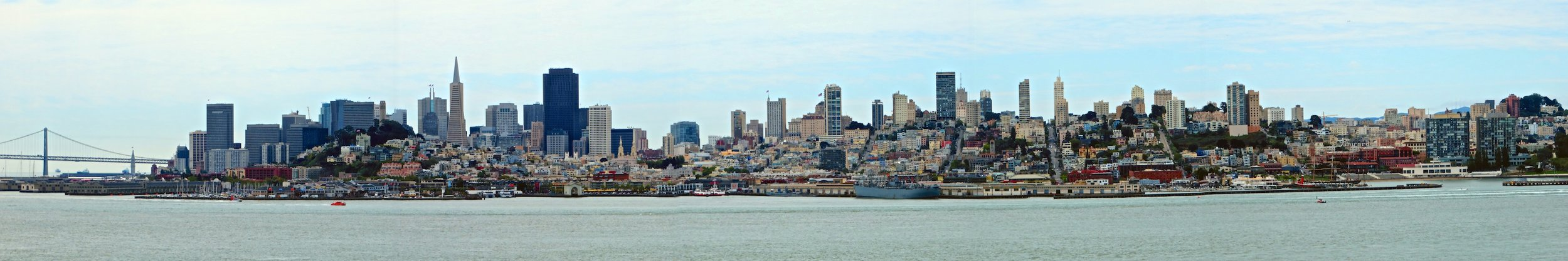 San Francisco panorama from Alcatraz Island