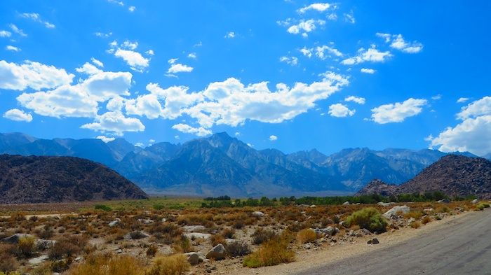 The Sierras behind Alabama Hills